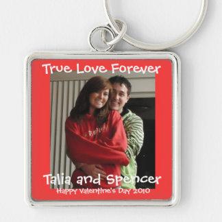 Porte-clés Jour de Valentines de porte - clé de photo