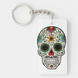Porte-clés Jour du porte - clé mort de crâne de sucre