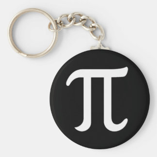 Porte-clés Jour heureux de pi