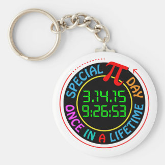 Porte-clés Jour spécial 2015 de pi