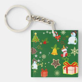 Porte-clés Joyeux Noël 917