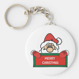 Porte-clés Joyeux Noël le père noël