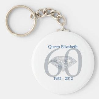 Porte-clés Jubilé de diamant de la Reine Elizabeth