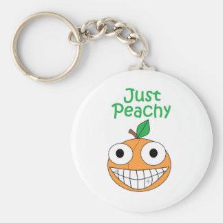 Porte-clés Juste porte - clé couleur pêche