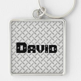 Porte-clés Juste pour le porte - clé de plat de diamant des