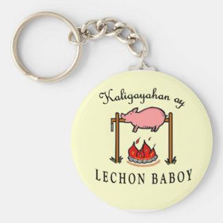 "Porte-clés ""Kaligayahan porte - clé de Lechon Baboy ay"""