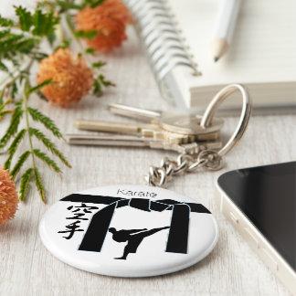 Porte-clés Karaté