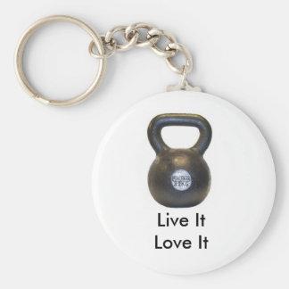 Porte-clés kettlebell, ItLove vivant il