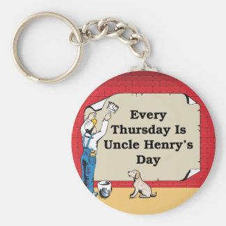 Porte-clés Keychain d'oncle Henry