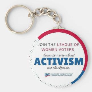 Porte-clés Keychairn de Slactivism d'activisme de LWVAH pas