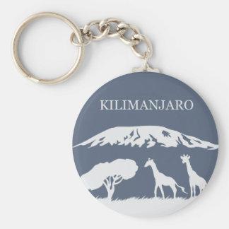 Porte-clés Kilimanjaro (bleu)