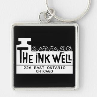 Porte-clés La boîte de nuit de puits d'encre, Chicago, IL