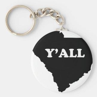 Porte-clés La Caroline du Sud Yall