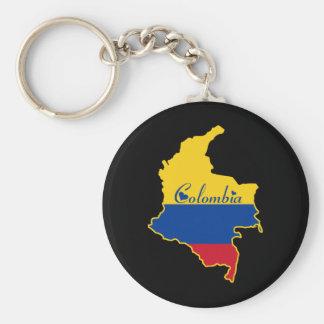 Porte-clés La Colombie fraîche