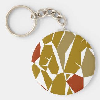 Porte-clés La conception bloque le miel d'ethno