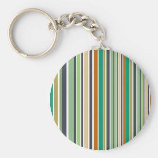 Porte-clés La conception raye le bambou
