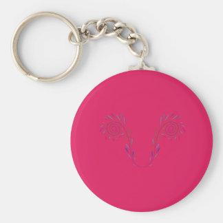 Porte-clés La conception s'envole Eco rouge