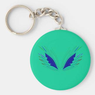 Porte-clés La conception s'envole le vert d'eco