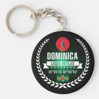 Porte-clés La Dominique