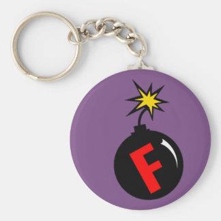 Porte-clés la f-bombe