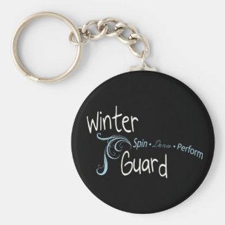 Porte-clés La garde d'hiver, danse de rotation de Colorguard