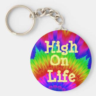 Porte-clés La haute la vie indiquent non à l'art de