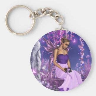Porte-clés La jeune mariée féerique du ressort