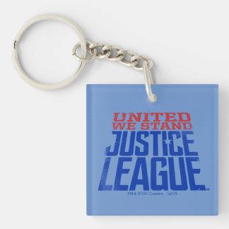 Porte-clés La ligue de justice | nous a unis se tiennent
