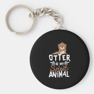 Porte-clés La loutre mignonne est mon poster de animal