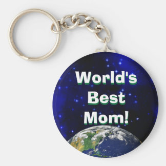 Porte-clés La meilleure maman du monde ! Porte - clé