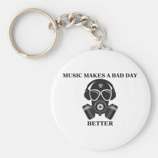 Porte-clés La musique fait mon jour
