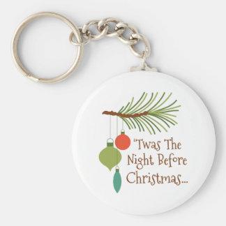 Porte-clés La nuit avant Noël