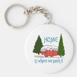 Porte-clés Là où nous le garons