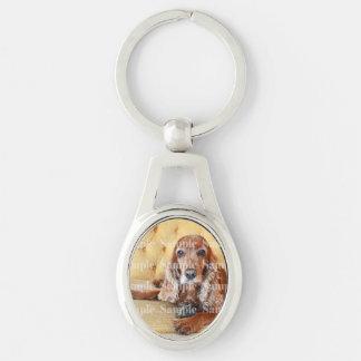 Porte-clés La photo commémorative d'animal familier