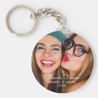 Porte-clés La photo de téléchargement des amis pour toujours
