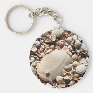 Porte-clés La plage écosse le porte - clé