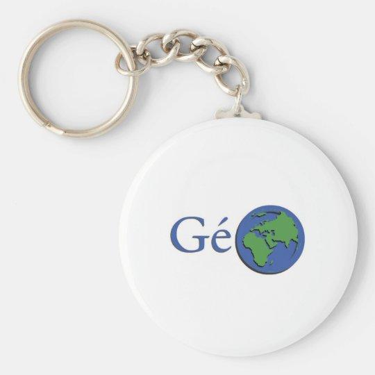 Porte-clés la planète terre - géographie