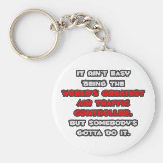 Porte-clés La plus grande plaisanterie de contrôleur de la