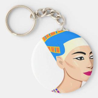 Porte-clés La Reine égyptienne Nefertiti