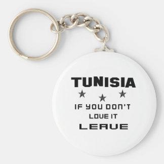 Porte-clés La Tunisie si vous ne l'aimez pas, partent