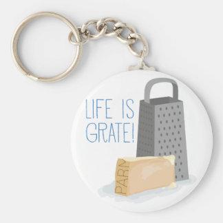 Porte-clés La vie est grille