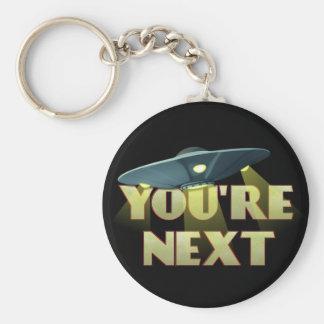 Porte-clés L'abduction étrangère, vous êtes prochains