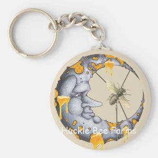 Porte-clés L'abeille de Huckle cultive le porte - clé