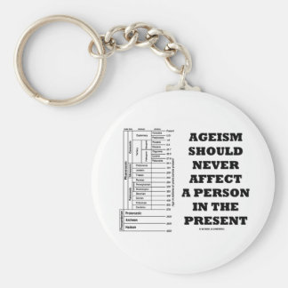 Porte-clés L'âgisme devrait ne jamais affecter une personne
