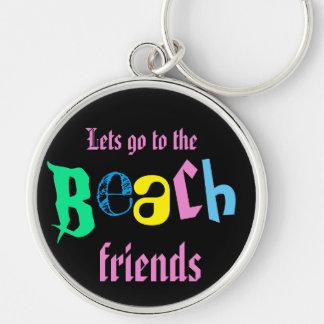 Porte-clés laisse aller aux amis de plage