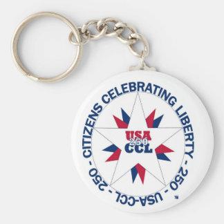 Porte-clés L'Amérique 250th ou l'anniversaire de CCL en 2026