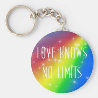 Porte-clés L'amour ne sait aucune limite
