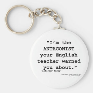 Porte-clés L'antagoniste votre professeur d'Anglais vous a