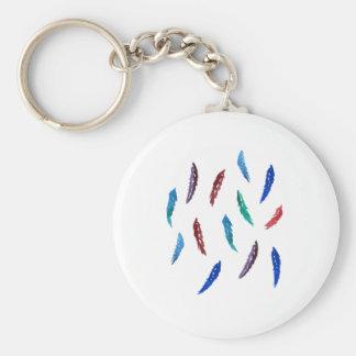 Porte-clés L'aquarelle fait varier le pas du porte - clé de