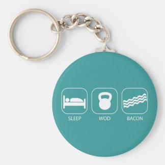 Porte-clés Lard du sommeil WOD - séance d'entraînement et